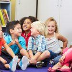 Kindergarten pupils