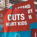 ETFO picket signs
