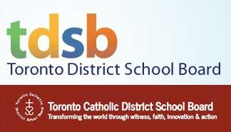 TDSB and TCDSB logos